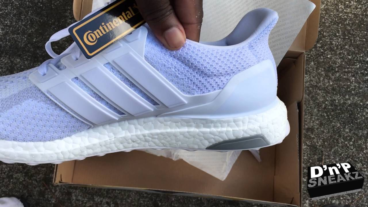 Ultra Boost Triple White 2016