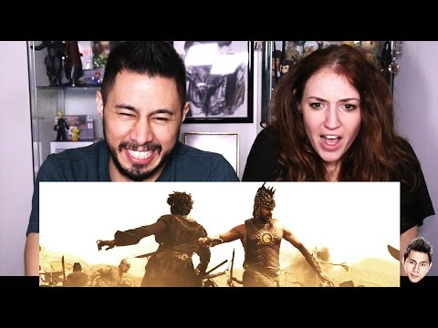 Thumbnail: BAAHUBALI trailer reaction by Jaby & Hope!