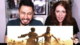 One of jaby koay's most viewed videos: BAAHUBALI trailer reaction by Jaby & Hope!