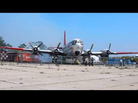 BAHF C-97G All Engines Running