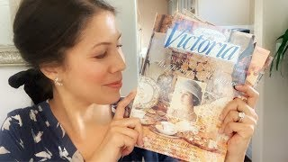Flipping Through Vintage Victoria Magazine | August 1994 * Relaxing*