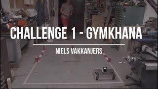 INDI Robot Games 2020 - Challenge 1: Gymkhana - Niels Vakkanjers