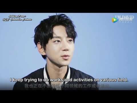 Eng Sub Hwang Chi Yeul I'M DAVID 2017 Interview