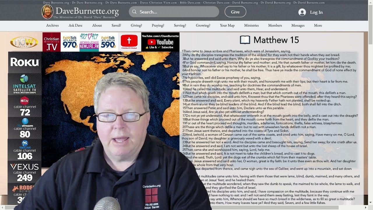 Matthew 15 ✒️ Are You a Hypocrite?