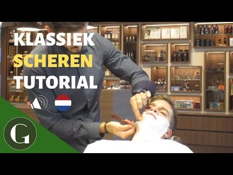 Klassiek Scheer Tutorial | Leer Scheren Zoals Een Barbier (Dutch)