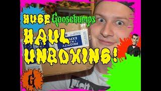 Huge Goosebumps Haul Unboxing!