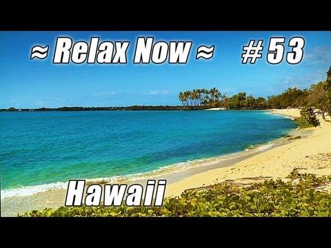 BEST HAWAII BEACH KEKAHA KAI Mahaiula #53 Beaches Ocean Waves HD relaxing Kona Coast State Park