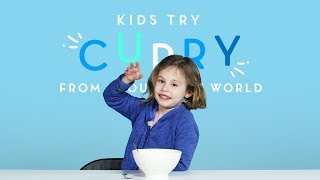 Kids Try Curry from Around the World | Kids Try | HiHo Kids