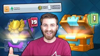 2000 CARD CHEST WINNING DECKS! & INSANE FREE CHEST LEGENDARY! | Clash Royale NEW BEST CHEST OPENING!