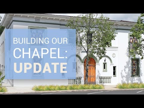 President Connolly: Help Build Our Chapel