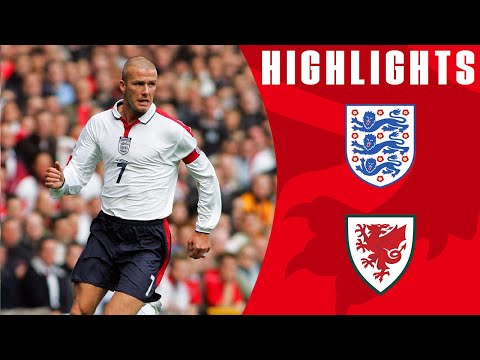 England v Wales (2004) World Cup Qualifying | From The Archive