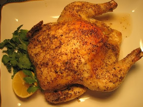 ROASTED CHICKEN ROTISSERIE - How to ROAST A WHOLE CHICKEN Recipe
