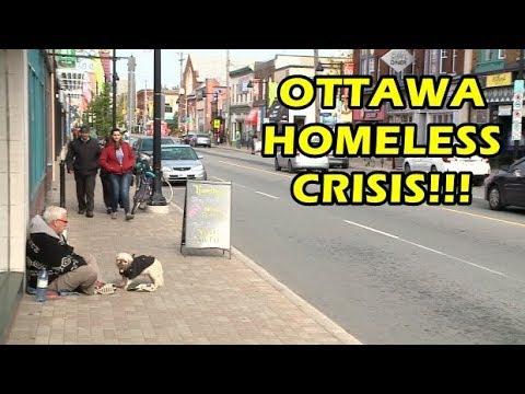 REALLY - Ottawa Has A Homeless Crisis!!!