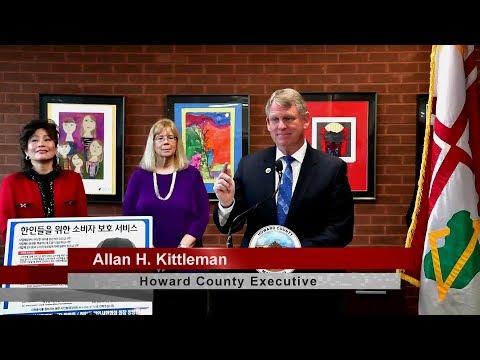 Executive Kittleman Signs MOU to Better Serve Korean Population