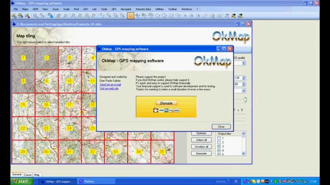 How to generate Garmin Custom Maps with OkMap