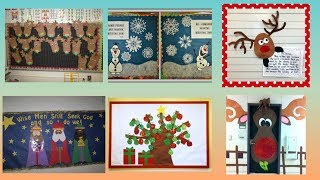 Winter's day school display board ideas | Notice board on Winter's day |