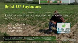 Best Ways to Apply Enlist Herbicides on Pioneer Enlist E3 Soybeans