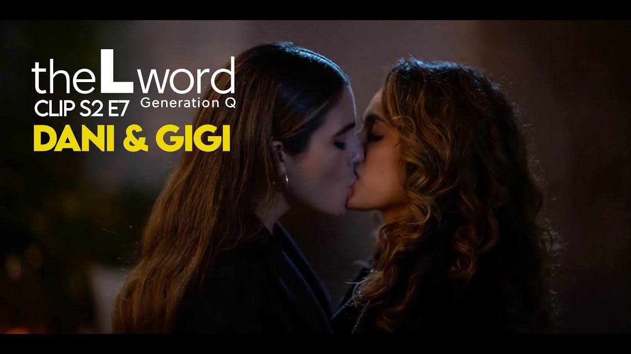 Download Kiss Dani and Gigi   The L Word  Generation Q S2 E7