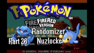 Pokemon Feuerrot Randomizer Nuzlocke   Part 28   dezent unlucky