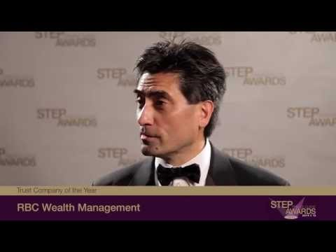 2014/15 STEP Private Client Awards - Trust Company of the Year winner RBC Wealth Management