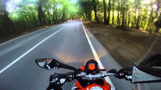 Short Trip With KTM Duke 200 In Istanbul Backroads