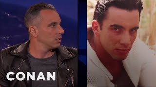 Sebastian Maniscalco's '90s Headshot Didn't Get Him Any Work  - CONAN on TBS