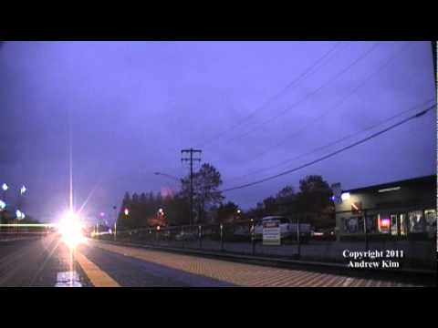 RAW Video: Sounder Commuter Train #1702 at Edmonds, WA without Station Stop!!