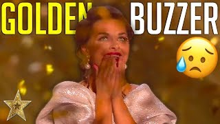 EMOTIONAL Sand Art Gets The First GOLDEN BUZZER On BGT: The Champions 2019! | Got Talent Global