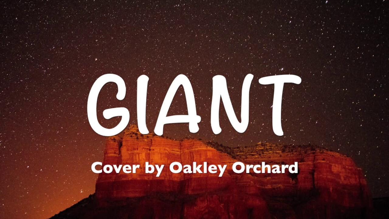 Calvin Harris, Rag'n'Bone Man - Giant (Lyrics, Cover by Oakley Orchard) image