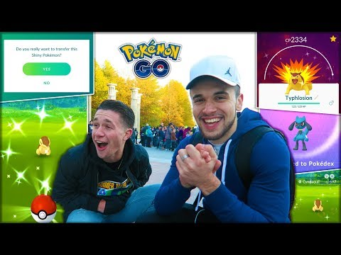 LOSER HAS TO TRANSFER A SHINY POKÉMON! (Pokémon GO)