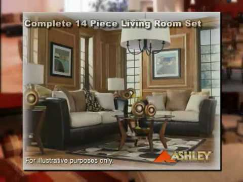 Ashley Furniture 14 Piece Living Room Set For $999 Commercial For HomeMart