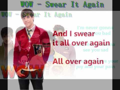 WOW - Swear it again + lyrics/download link