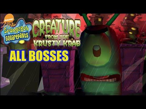 SpongeBob SquarePants: Creature from the Krusty Krab All Bosses