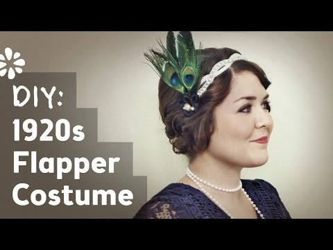 Flapper Girl Halloween Costume Diy Diy Flapper Halloween Costume
