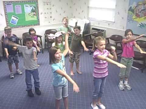 Mrs. Scott's Classical Conversations Class/ Preposition Song