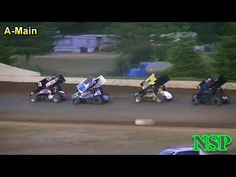 June 16, 2018 360 Sprints A-Main Grays Harbor Raceway
