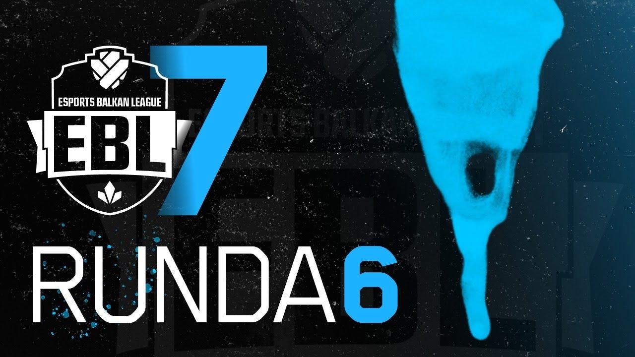 EBL Sezona 7 - Crvena Zvezda vs SuppUp Esports Runda 6 w/ Sa1na, Mićko i Minja
