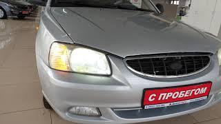 Обзор автомобиля Hyundai Accent 2006 год.