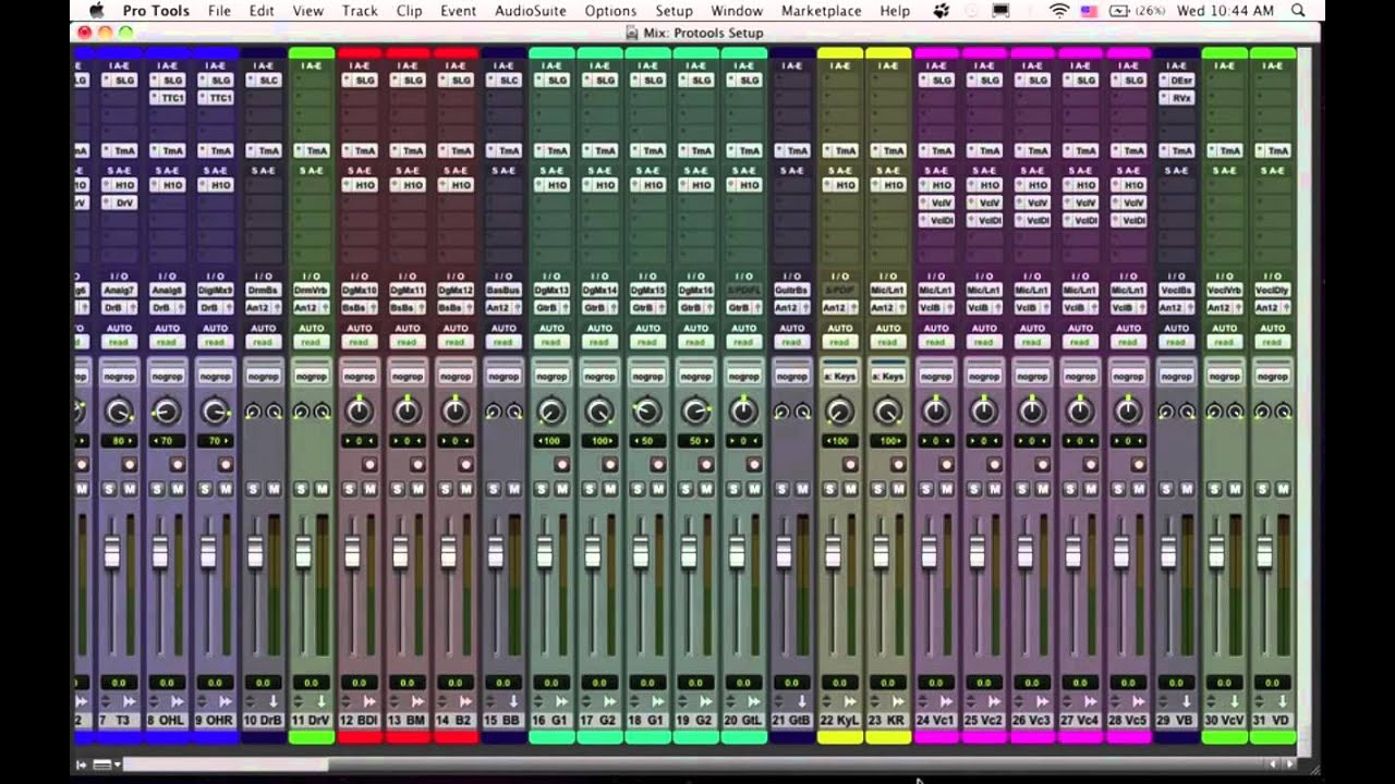 ProTools Tip: Setting Up Templates and Pro Tools Hack - YouTube