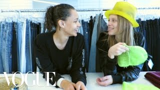 Binx Walton and Lexi Boling Stage a Model Break-In At Vogue.com