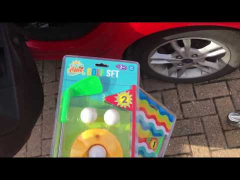 B&M Garden Toy Sale £1 Each Crazy Prices Pickup Video