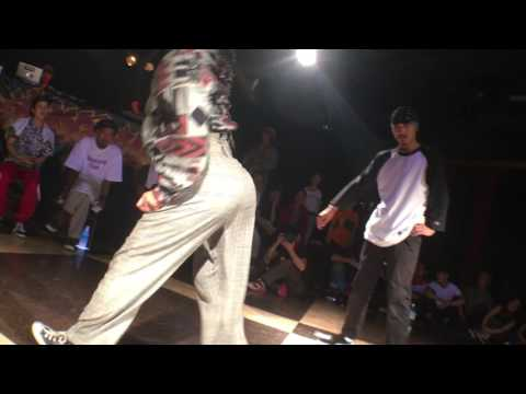 SHOTA vs Yuka_Hook up!! LOCKING_SEMI FINAL BATTLE_2016.8.12