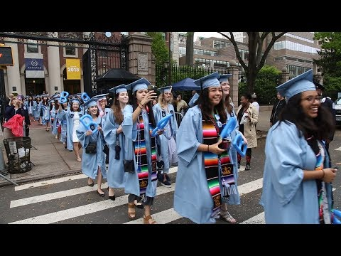 Barnard College: Reflections on Commencement 2018