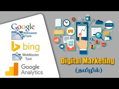 Digital Marketing in Tamil - Webmaster Tools and Analytics thumbnail