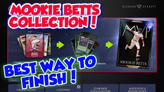 *NEW* BEST WAY TO FINISH MOOKIE BETTS COLLECTION IN MLB THE SHOW 21 DIAMOND DYANSTY FASTEST WAY! WOW