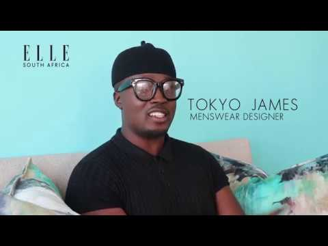Designer Tokyo James speaks exclusively to ELLE about his work
