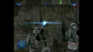 star wars battlefront 1 gameplay s1 #10 pc yavin 4: arena
