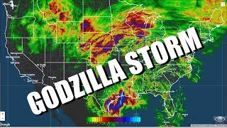The GODZILLA Storm over the USA is still raging. 22 inches of rain in 72 hours Port Arthur!