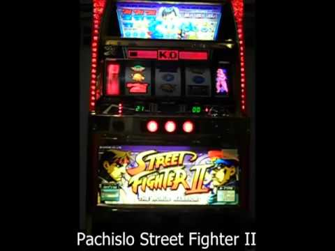 Pachislo STREET FIGHTER II Slot Machine