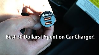 Best 20 Dollars I Spent on Car Charger!